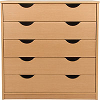 Pagnell 5 Drawer Chest - Oak