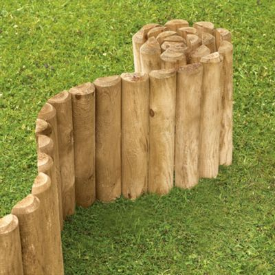 Lawn Garden Edging Borders Planters Sleepers Homebase