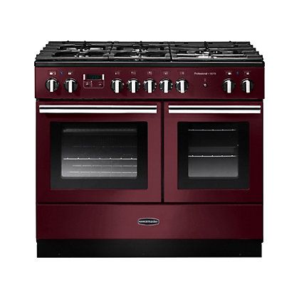 Image for Rangemaster Professional Plus 100cm FX Dual Fuel Range Cooker - Red from StoreName