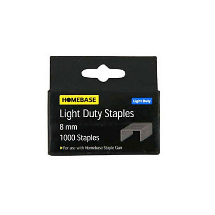 Image for Light Duty Staples - 6mm - 1000 Pack from StoreName