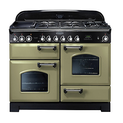 Image for Rangemaster 100930 Classic Deluxe 110cm Dual Fuel Range Cooker from StoreName