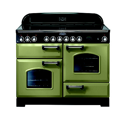 Image for Rangemaster 100940 Classic Deluxe 110cm Range Cooker - Olive Green from StoreName