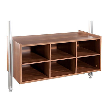 Image for Relax Matrix Kit with Brackets - Walnut - 900mm from StoreName