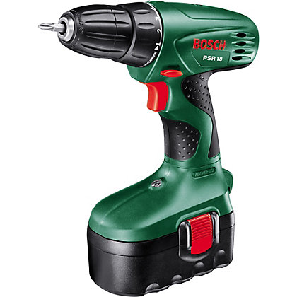 Image for Bosch PSR 18 Cordless 18V Drill/Driver from StoreName
