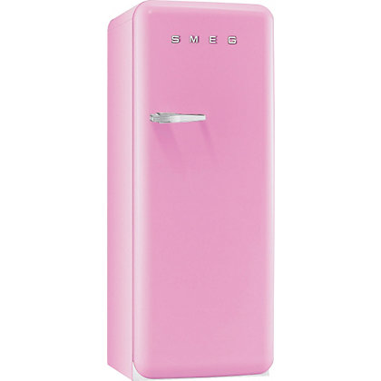 Image for Smeg FAB28QRO1 Right Hand Hinged Fridge with Icebox - Pink from StoreName