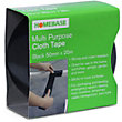 Cloth Tape - Black - 50mm x 25m