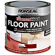 Ronseal Diamond Hard Tile Red - Floor Paint - 750ml