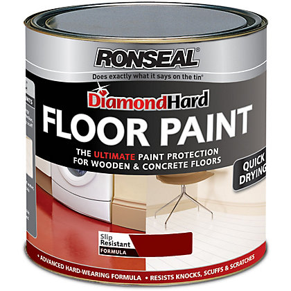 Image for Ronseal Diamond Hard Tile Red - Floor Paint - 750ml from StoreName
