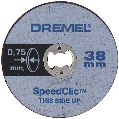 Image for Dremel SpeedClic Thin Cutting Wheels (5pc) from StoreName