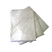 Polythene Dustsheets - Large - 360 x 360cm - 3 Pack