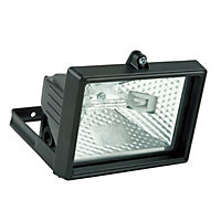 120W Value Floodlight - Black