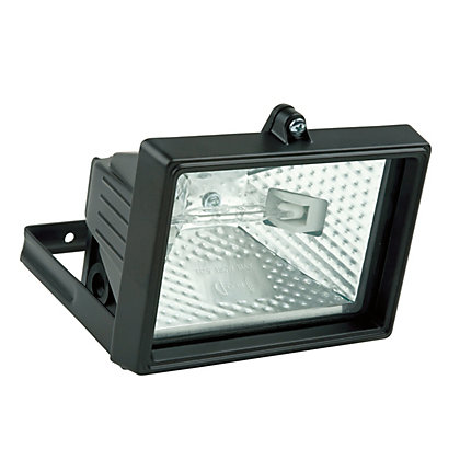 Image for Value 120W Black Floodlight from StoreName