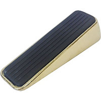 Polished Brass Door Wedge