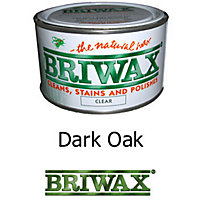 Briwax Finishing Wax - Dark Oak - 370g