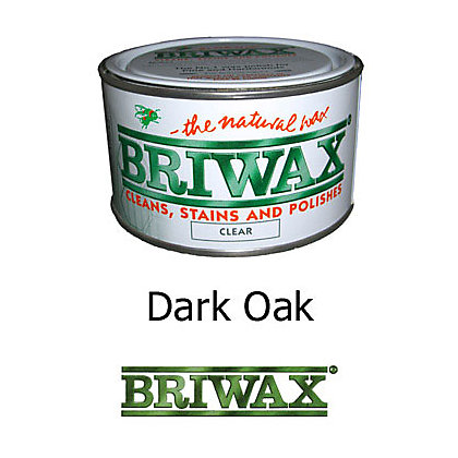 Image for Briwax Finishing Wax - Dark Oak - 370g from StoreName