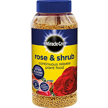 Image for Miracle-Gro Continuous Release Rose and Shrub Plant Food - 1kg from StoreName
