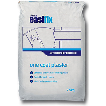 Image for Artex Easifix One Coat Plaster - 2.5kg from StoreName
