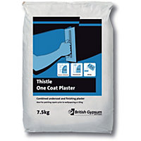 Thistle One Coat Plaster - 7.5kg