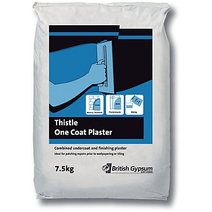 Image for Thistle One Coat Plaster - 7.5kg from StoreName