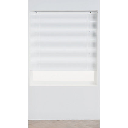 Image for Home of Style White Aluminium 25mm Venetian Blind - 120cm from StoreName
