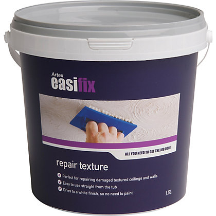 Image for Artex Easifix Repair Texture - 1.5L from StoreName