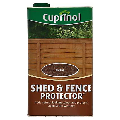 Image for Cuprinol Shed and Fence Protector - Chestnut - 5L from StoreName