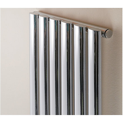 Image for Hampton Single Radiator - 352mm x 1800mm - Chrome from StoreName