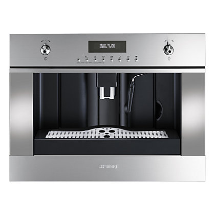 Image for Smeg CMS45X Classic 60cm Coffee Machine - Stainless Steel from StoreName