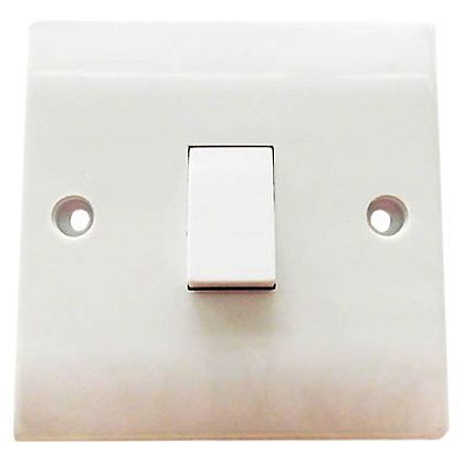 Image for One Gang Intermediate Switch - White from StoreName