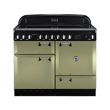 Image for Rangemaster 101000 Elan 110cm Range Cooker - Olive Green from StoreName