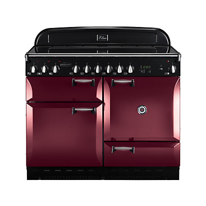 Image for Rangemaster 101200 Elan 110cm Range Cooker - Cranberry from StoreName