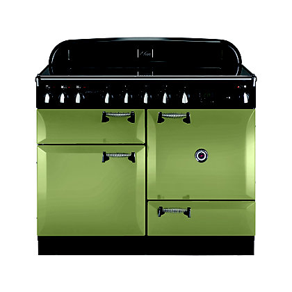 Image for Rangemaster 101010 Elan 110cm Induction Range Cooker - Olive Green from StoreName