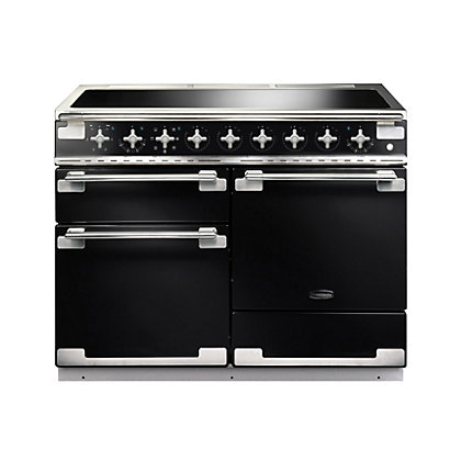 Image for Rangemaster 100320 Elise 110 Induction Range Cooker - Gloss Black from StoreName