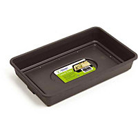 Premium Black Seed Tray with Holes