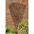 Rustic Willow Fan Trellis - 1.8m x 0.9m