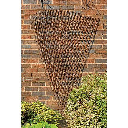 Image for Rustic Willow Fan Trellis - 1.8m x 0.9m from StoreName