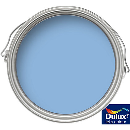 Image for Dulux Blue Babe - Matt Emulsion Colour Paint - 50ml Tester from StoreName