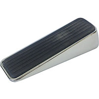 Polished Chrome Door Wedge