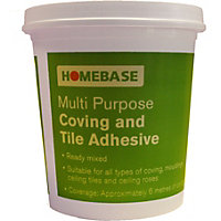 Homebase Multi Purpose Coving And Tile Adhesives - 1L
