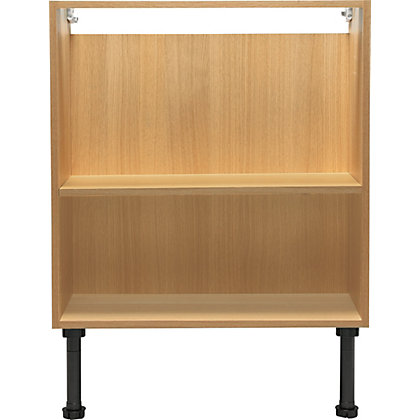 Image for Schreiber Fitted Double Base Unit - Oak Effect from StoreName