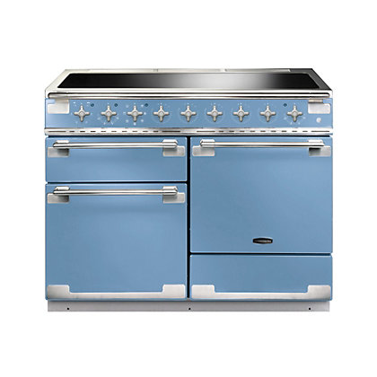 Image for Rangemaster Elise 110cm Induction Range Cooker - China Blue from StoreName