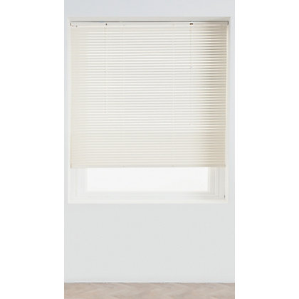 Image for Home of Style Cream Aluminium 25mm Venetian Blind - 60cm from StoreName