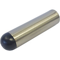 Decorative Door Stop - Satin Nickel Finish