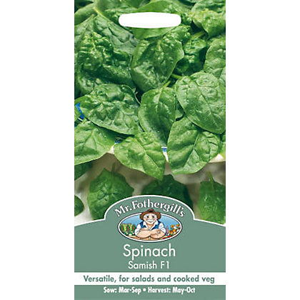 Image for Spinach Samish F1 (Spinacia Oleracea) Seeds from StoreName