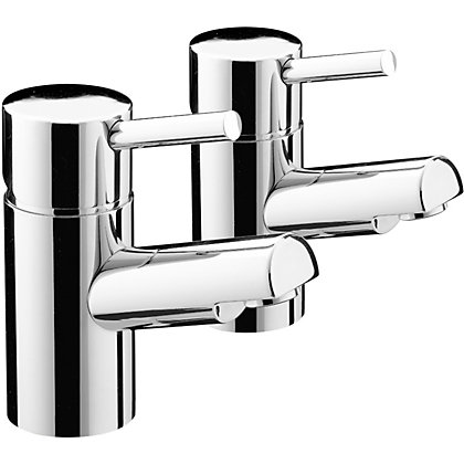 Image for Bristan Prism Basin Taps - Chrome from StoreName