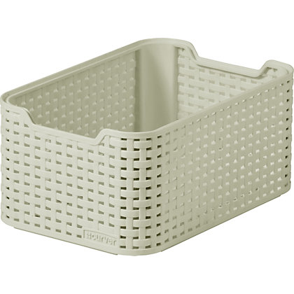 Image for Curver Rattan Style Small Storage Box from StoreName