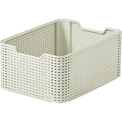 Image for Curver Rattan Style Medium Storage Box from StoreName