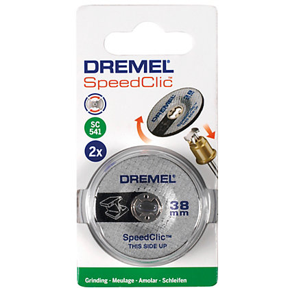 Image for Dremel SpeedClic Grinding Wheels from StoreName