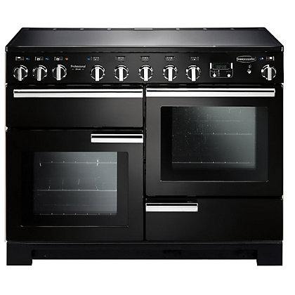 Image for Rangemaster Professional Deluxe 110cm Range Cooker - Black from StoreName