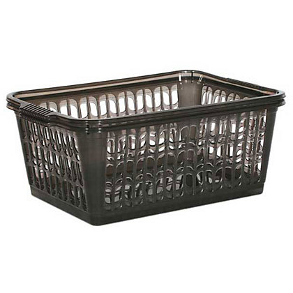 Image for Handy Baskets - Smoke - Large - 2 Pack from StoreName